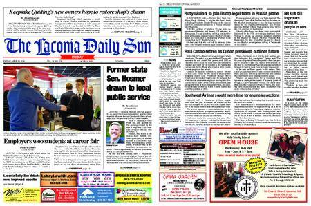 The Laconia Daily Sun – April 20, 2018