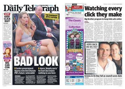 The Daily Telegraph (Sydney) – February 14, 2018