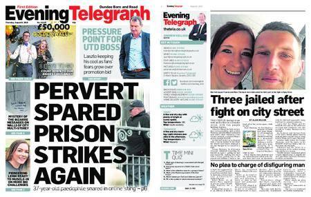 Evening Telegraph First Edition – August 09, 2018