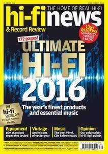 Hi-Fi News - November 2016