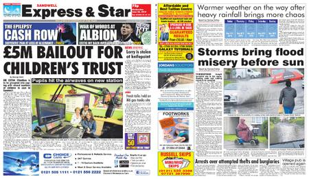 Express and Star Sandwell Edition – June 26, 2019