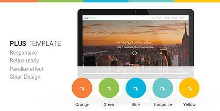 ThemeForest - Plus Responsive Retina Ready One-Page Template (Update: 17 April 17) - 5718149