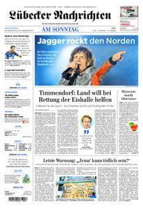 Lübecker Nachrichten Ostholstein Süd - 10. September 2017