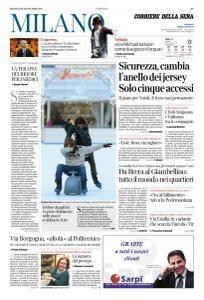 Corriere della Sera Milano - 20 Dicembre 2017