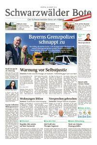 Schwarzwälder Bote Sulz - 28. August 2018