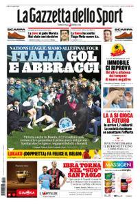 La Gazzetta dello Sport Roma – 19 novembre 2020