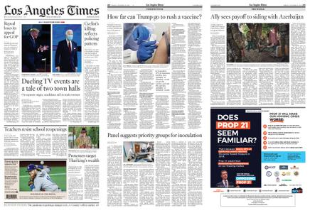 Los Angeles Times – October 16, 2020