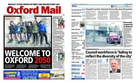 Oxford Mail – March 12, 2018
