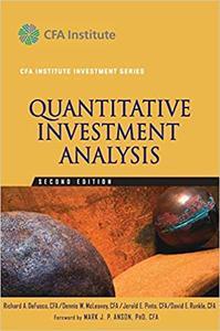Quantitative Investment Analysis Ed 2