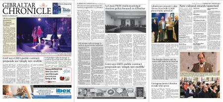 Gibraltar Chronicle – 18 February 2019