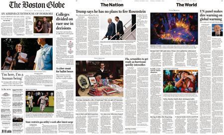 The Boston Globe – October 09, 2018