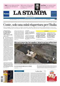 La Stampa Imperia e Sanremo - 11 Aprile 2020