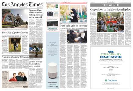 Los Angeles Times – December 17, 2019