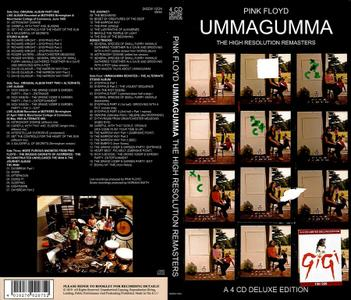 Pink Floyd - Ummagumma: The High Resolution Remasters (1969) {2019, 4CD Limited Deluxe Edition, Numbered}