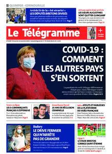 Le Télégramme Ouest Cornouaille – 22 novembre 2020