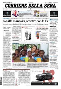 Corriere della Sera – 22 novembre 2018