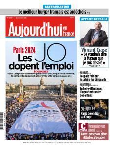 Aujourd'hui en France du Jeudi 4 Avril 2019
