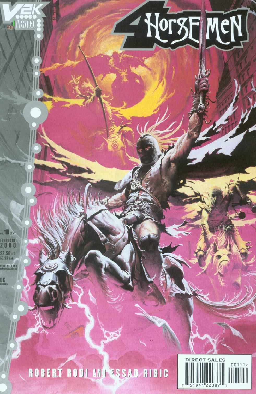 Four Horseman of Acocalypse Comics Vertigo