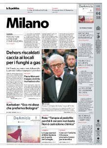 la Repubblica Milano - 5 Aprile 2018