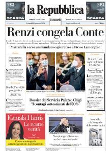 la Repubblica - 29 Gennaio 2021