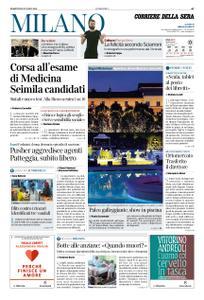 Corriere della Sera Milano – 30 luglio 2019