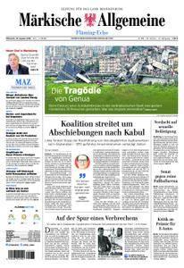 Märkische Allgemeine Fläming Echo - 15. August 2018