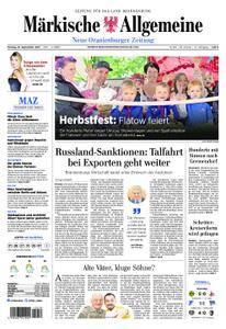 Neue Oranienburger Zeitung - 18. September 2017