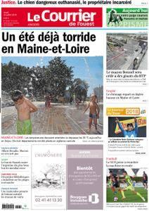 Le Courrier de l'Ouest Angers - 26 juillet 2018