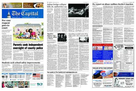 The Capital – August 15, 2018