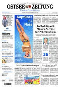 Ostsee Zeitung Wolgast - 22. Februar 2018