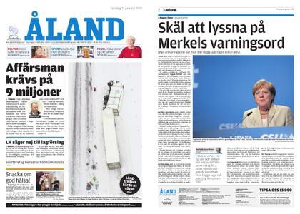 Ålandstidningen – 31 januari 2019