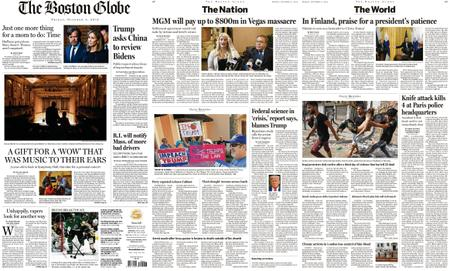 The Boston Globe – October 04, 2019