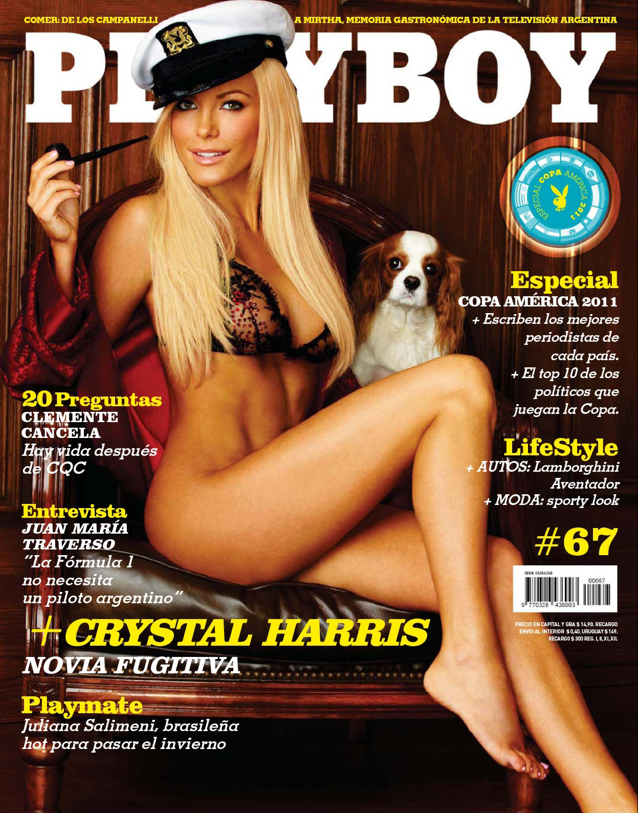 Playboy Argentina - July 2011 - No watermark