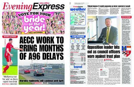 Evening Express – January 15, 2018