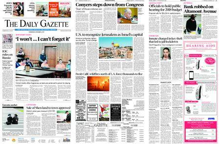 The Daily Gazette – December 06, 2017