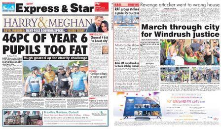 Express and Star City Edition – May 21, 2018
