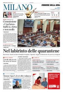 Corriere della Sera Milano – 27 maggio 2020