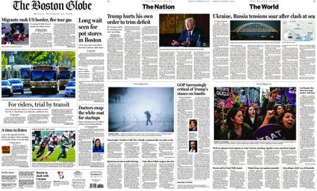 The Boston Globe – November 26, 2018