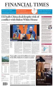 Financial Times Middle East - December 31, 2020
