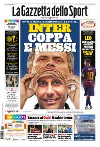 La Gazzetta dello Sport Roma – 21 agosto 2020