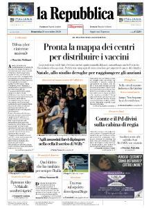la Repubblica - 29 Novembre 2020