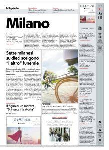 la Repubblica Milano - 1 Maggio 2018