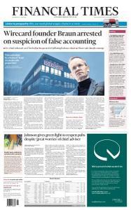Financial Times UK - June 24, 2020