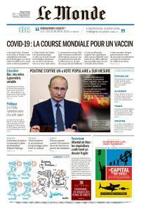 Le Monde du Jeudi 25 Juin 2020