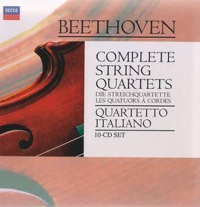 Quartetto Italiano - Beethoven: Complete String Quartets (1996) (10 CDs Box Set)