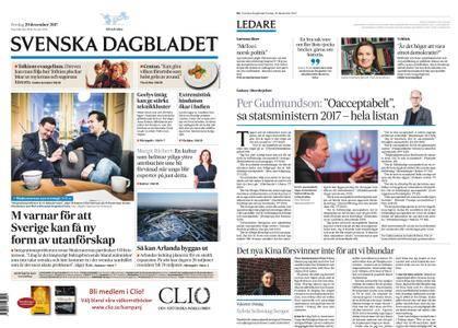 Svenska Dagbladet – 29 december 2017