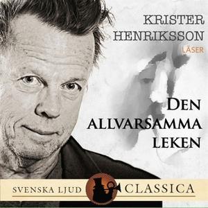 «Den allvarsamma leken» by Hjalmar Söderberg