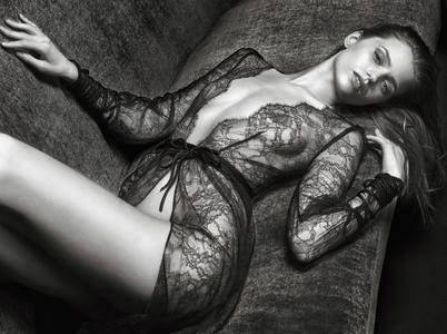 Abbey Lee Kershaw by Mario Sorrenti for Agent Provocateur Fall/Winter 2016
