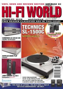 Hi-Fi World - September 2019