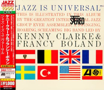 Kenny Clarke & Francy Boland - Jazz Is Universal (1961) {2012 Japan Jazz Best Collection 1000 Series WPCR-27191}